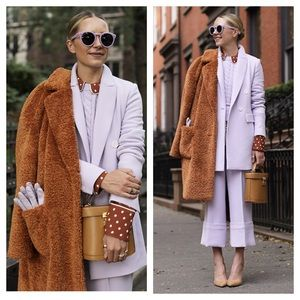 HALOGEN x Atlantic-Pacific Faux Fur Teddy Coat XL